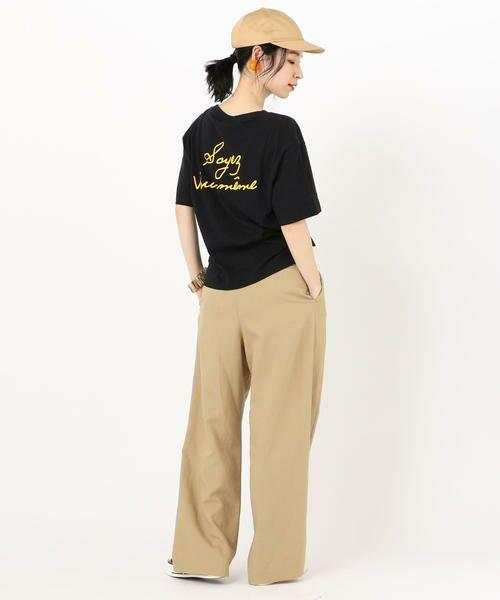 SHIPS for women / シップスウィメン Tシャツ | 81BRANCA: ロゴTEE | 詳細13