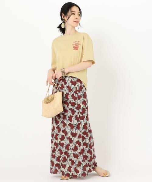 SHIPS for women / シップスウィメン Tシャツ | 81BRANCA: ロゴTEE | 詳細17