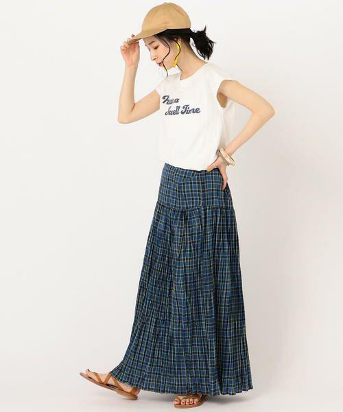 SHIPS for women / シップスウィメン Tシャツ | 81BRANCA:フレンチスリーブロゴTee | 詳細8