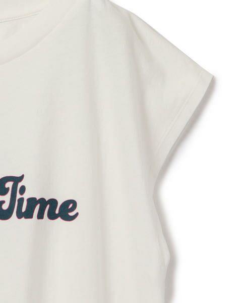 SHIPS for women / シップスウィメン Tシャツ | 81BRANCA:フレンチスリーブロゴTee | 詳細2