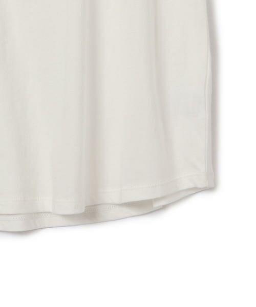 SHIPS for women / シップスウィメン Tシャツ | 81BRANCA:フレンチスリーブロゴTee | 詳細3