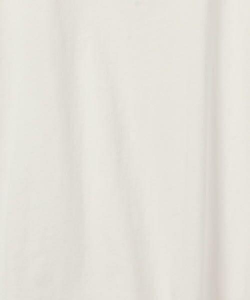 SHIPS for women / シップスウィメン Tシャツ | 81BRANCA:フレンチスリーブロゴTee | 詳細4