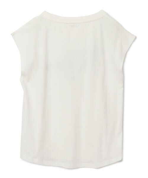 SHIPS for women / シップスウィメン Tシャツ | 81BRANCA:フレンチスリーブロゴTee | 詳細5