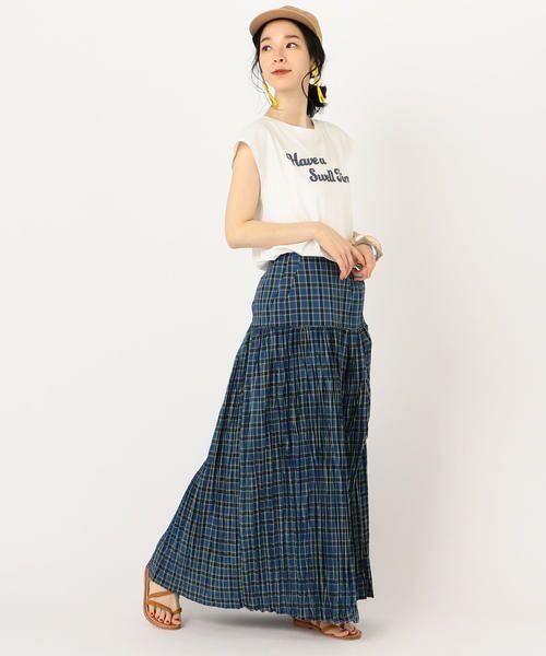 SHIPS for women / シップスウィメン Tシャツ | 81BRANCA:フレンチスリーブロゴTee | 詳細7