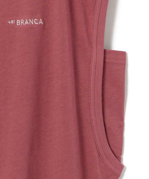 SHIPS for women / シップスウィメン カットソー | 81BRANCA:ロゴショートスリーブ | 詳細12