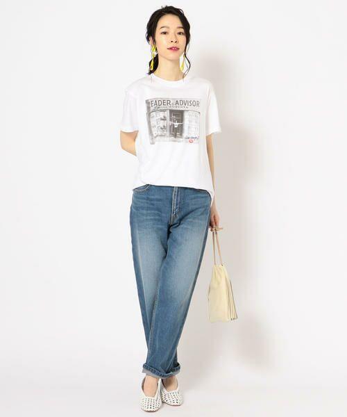 SHIPS for women / シップスウィメン Tシャツ | Roberta Bayley プリントTee | 詳細4