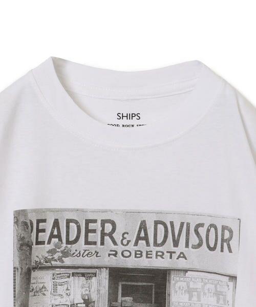 SHIPS for women / シップスウィメン Tシャツ | Roberta Bayley プリントTee | 詳細9