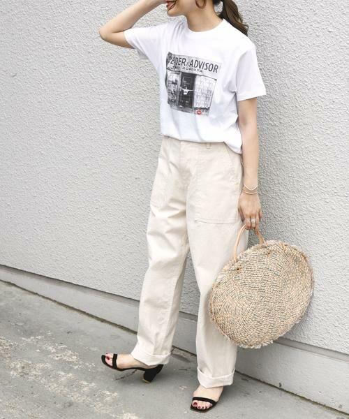SHIPS for women / シップスウィメン Tシャツ | Roberta Bayley プリントTee | 詳細2