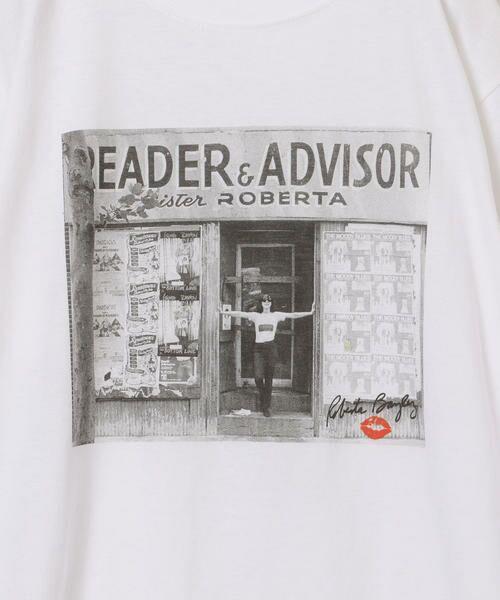 SHIPS for women / シップスウィメン Tシャツ | Roberta Bayley プリントTee | 詳細14