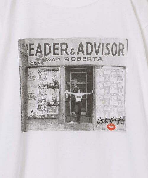 SHIPS for women / シップスウィメン Tシャツ | Roberta Bayley プリントTee | 詳細20