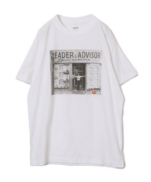 SHIPS for women / シップスウィメン Tシャツ | Roberta Bayley プリントTee | 詳細21