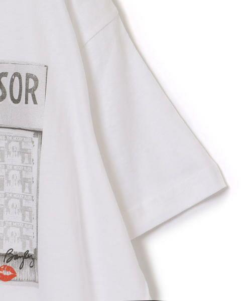SHIPS for women / シップスウィメン Tシャツ | Roberta Bayley プリントTee | 詳細22