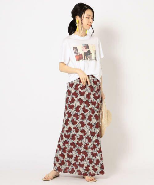 SHIPS for women / シップスウィメン Tシャツ | Roberta Bayley プリントTee | 詳細27