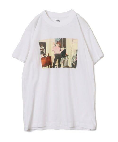 SHIPS for women / シップスウィメン Tシャツ   Roberta Bayley プリントTee   詳細28