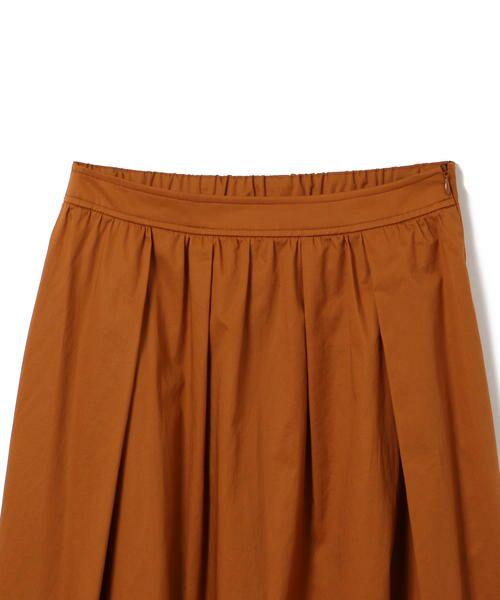 SHIPS for women / シップスウィメン ミニ・ひざ丈スカート | タックスカート | 詳細1