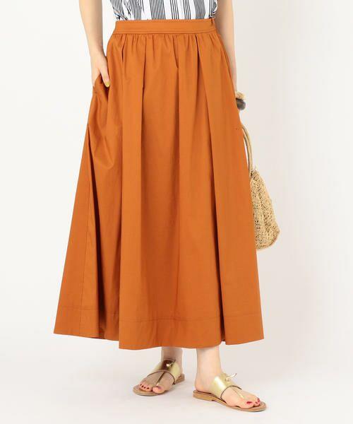 SHIPS for women / シップスウィメン ミニ・ひざ丈スカート | タックスカート | 詳細11