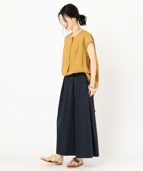 SHIPS for women / シップスウィメン ミニ・ひざ丈スカート | タックスカート | 詳細19