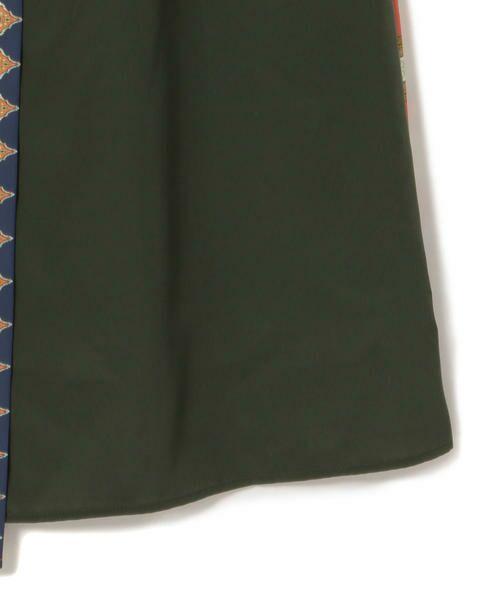 SHIPS for women / シップスウィメン ロング・マキシ丈スカート | スカーフプリントラップスカート | 詳細4