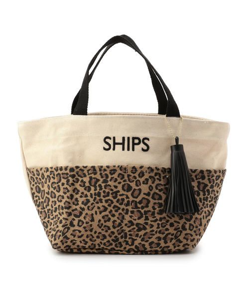 SHIPS for women / シップスウィメン トートバッグ | 《一部予約》タッセル ポケットトートバッグ◆(ブラウン)