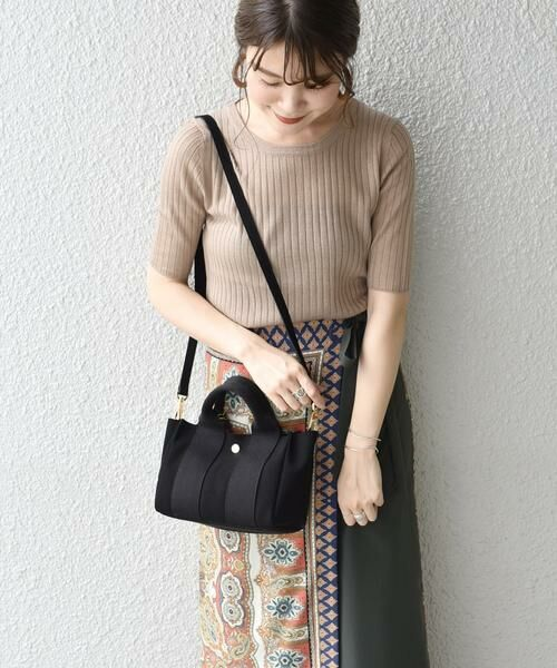 SHIPS for women / シップスウィメン トートバッグ | 《予約》VIOLAd'ORO:GINO SMALL TOTE ◆ | 詳細10
