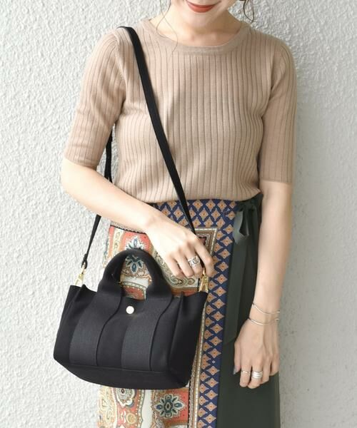 SHIPS for women / シップスウィメン トートバッグ | VIOLAd'ORO:GINO SMALL TOTE◇ | 詳細13