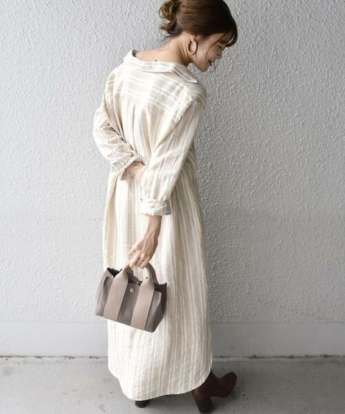 SHIPS for women / シップスウィメン トートバッグ | 《予約》VIOLAd'ORO:GINO SMALL TOTE ◆ | 詳細13