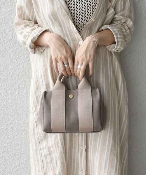SHIPS for women / シップスウィメン トートバッグ | VIOLAd'ORO:GINO SMALL TOTE◇ | 詳細17