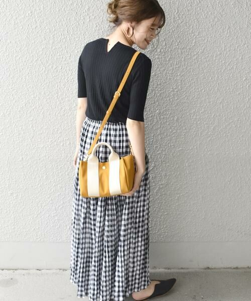 SHIPS for women / シップスウィメン トートバッグ | 《予約》VIOLAd'ORO:GINO SMALL TOTE ◆ | 詳細17