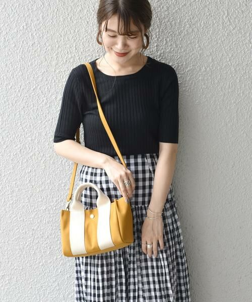 SHIPS for women / シップスウィメン トートバッグ | 《予約》VIOLAd'ORO:GINO SMALL TOTE ◆ | 詳細19