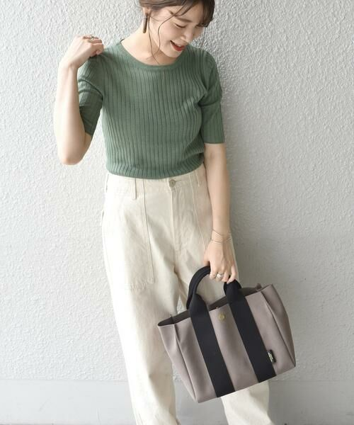 SHIPS for women / シップスウィメン トートバッグ | 《予約》VIOLAd'ORO:GINO  TOTE ◆ | 詳細20