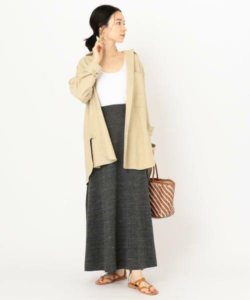 SHIPS for women / シップスウィメン ロング・マキシ丈スカート | CAL.Berries:ボードウォークマキシスカート | 詳細3