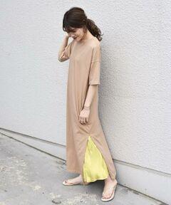 【otonaMUSE×SHIPS】コラボ商品登場!!<br><br>otonaMUSEとSHIPSで考えた大人の為のTEEシャツドレスは、<br>プリーツスカート付きで、セットでも別々でも着れる3way仕様♪<br><br>どちらもトレンドのロング丈なので、単品でも使いやすいザイン。<br>TEEシャツドレスに施した深めのスリットは、アクセントと軽さを演出。<br>1枚は勿論、お持ちのレギンスやデニムとの重ね着もおススメです。<br>程よい光沢感のあるスカートは、ベーシックなシルエットなので、普段から通勤にと活躍してくれる1枚。目を引くカラーもコーディネートを明るく見せてくれます。<br><br>共にご自宅で手洗い可能です。<br><br><br>《スカートのサイズスペック》<br>スカート丈:約80cm ウエスト:約60cm 裏地丈:約55cm<br><br><br>※しわ、プリーツ加工は永久的なものではありません。着用、洗濯の繰り返しで、しわ、プリーツは徐々に消失していきます。<br>※汗や雨等の水分や摩擦により、他の衣類に色移りする場合がありますのでご注意下さい。<br>※末永く愛用頂く為に、アテンションタグ・洗濯ネームを必ずご確認の上、着用又はお取り扱い下さい。<br><br><br><br><font color=RED>※画像の商品はサンプルです。 </b></font><br>実際の商品と仕様、加工、サイズが若干異なる場合がございます。<br><br><br>※屋外での撮影画像は、光の当たり具合で色味が異なって見える場合があります。商品の色味は、スタジオでの詳細画像をご参照ください。<br>