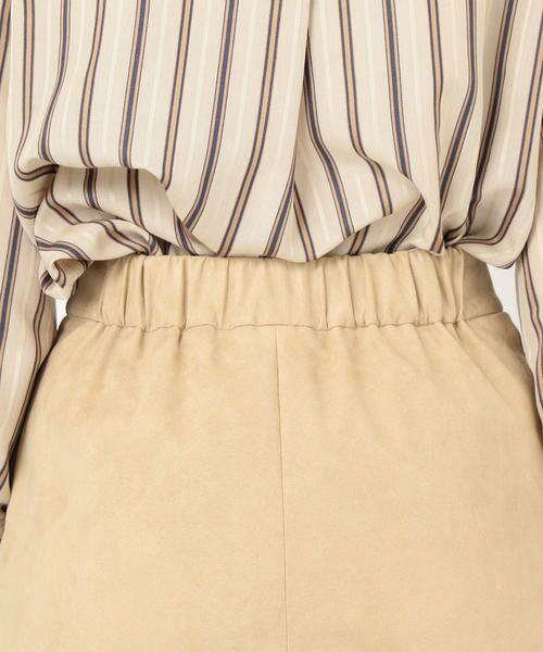 SHIPS for women / シップスウィメン ミニ・ひざ丈スカート | フェイクスエードタイトスカート◇ | 詳細9