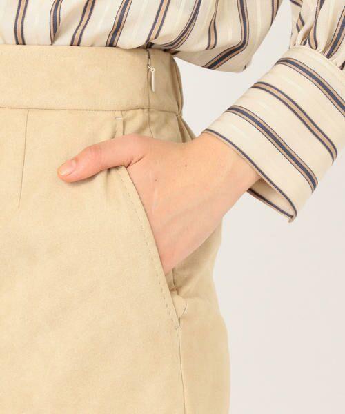 SHIPS for women / シップスウィメン ミニ・ひざ丈スカート | フェイクスエードタイトスカート◇ | 詳細11