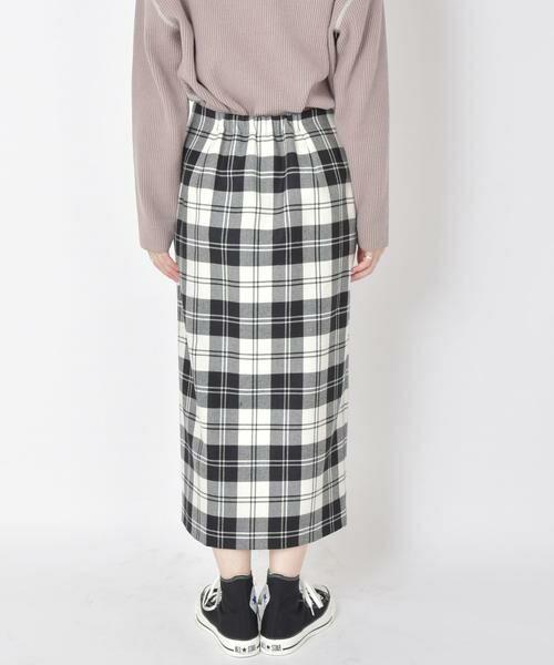 SHIPS for women / シップスウィメン ミニ・ひざ丈スカート | タータンチェックタイトスカート◇ | 詳細8