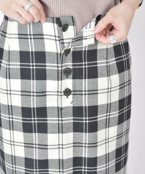 SHIPS for women / シップスウィメン ミニ・ひざ丈スカート | タータンチェックタイトスカート◇ | 詳細10