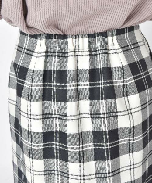 SHIPS for women / シップスウィメン ミニ・ひざ丈スカート | タータンチェックタイトスカート◇ | 詳細11
