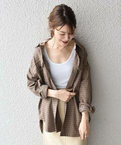 <font color=#04B4AE>今シーズン注目のシャツのようなジャケット《シャケット》のご紹介。<br></font><br>こなれ感を出す為にサイズ感やディティールにこだわった一着。<br>カジュアルな印象ですが、レーヨンのやわらかさと落ち感が大人な雰囲気で着こなせます。<br>羽織としてはもちろん、コートインでも着られるので、ロングシーズン使えるのも嬉しいポイントです。<br><br>--------------------------------------------<br>生地の厚み:中間<br>伸縮性:無<br>透け感:無<br>光沢感:無<br>--------------------------------------------<br>【スタッフ着用コメント】<br>《スタッフ1》<br>身長:156cm/体型:細身/普段サイズ:S/着用サイズ:ONE SIZE<br>サイズ感:肩が落ちるデザインでゆったり着られました。インナーに薄手のタートルネックニットなど着るのも可能なくらいゆとりがあります。<br>コメント:ジャケットのようなシャツのような気軽に着られて、秋から真冬まで使えるアイテムだと思います。<br>さっと羽織るだけでおしゃれな雰囲気になるのでおすすめです。<br>--------------------------------------------<br><br><br><br>※末永く愛用頂く為に、アテンションタグを必ずご確認の上、着用又はお取り扱い下さい。<br><br><br><font color=RED>※画像の商品はサンプルです。 </b></font><br>実際の商品と仕様、加工、サイズが若干異なる場合がございます。<br><br><br>※屋外での撮影画像は、光の当たり具合で色味が異なって見える場合があります。商品の色味は、スタジオでの詳細画像をご参照ください。<br>