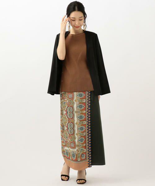 SHIPS for women / シップスウィメン ノーカラージャケット | 【セットアップ対応可能】羽織りジャケット | 詳細3