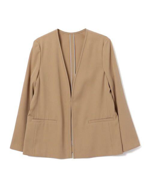 SHIPS for women / シップスウィメン ノーカラージャケット | 【セットアップ対応可能】羽織りジャケット | 詳細16