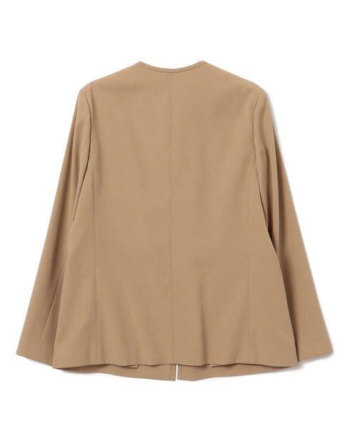 SHIPS for women / シップスウィメン ノーカラージャケット | 【セットアップ対応可能】羽織りジャケット | 詳細17