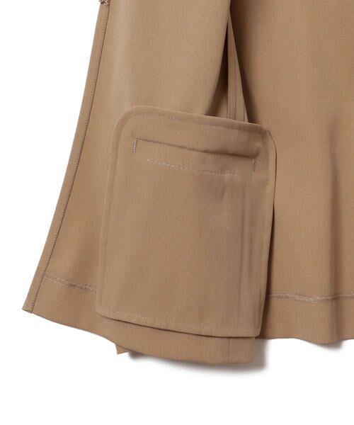 SHIPS for women / シップスウィメン ノーカラージャケット | 【セットアップ対応可能】羽織りジャケット | 詳細18