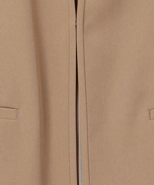 SHIPS for women / シップスウィメン ノーカラージャケット | 【セットアップ対応可能】羽織りジャケット | 詳細19