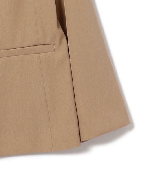 SHIPS for women / シップスウィメン ノーカラージャケット | 【セットアップ対応可能】羽織りジャケット | 詳細20