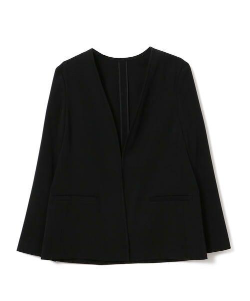 SHIPS for women / シップスウィメン ノーカラージャケット | 【セットアップ対応可能】羽織りジャケット | 詳細21