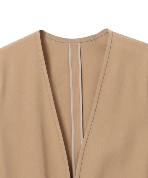 SHIPS for women / シップスウィメン ノーカラージャケット | 【セットアップ対応可能】羽織りジャケット | 詳細22