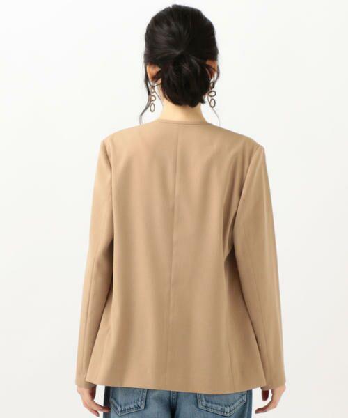 SHIPS for women / シップスウィメン ノーカラージャケット | 【セットアップ対応可能】羽織りジャケット | 詳細25