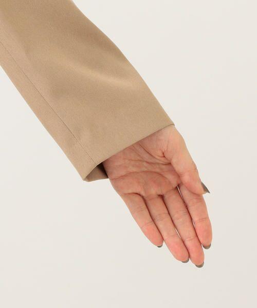 SHIPS for women / シップスウィメン ノーカラージャケット | 【セットアップ対応可能】羽織りジャケット | 詳細27