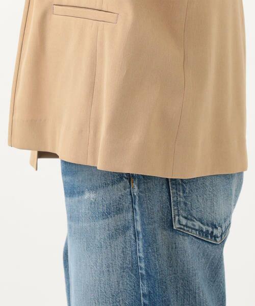 SHIPS for women / シップスウィメン ノーカラージャケット | 【セットアップ対応可能】羽織りジャケット | 詳細30