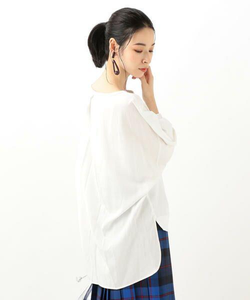 SHIPS for women / シップスウィメン カットソー   フハクコンビ プルオーバー   詳細8